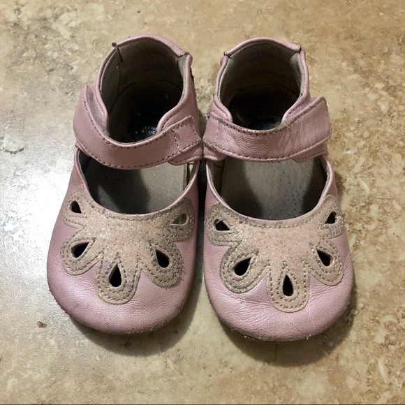 Livie & Luca Soft Sole Pink Sparkly Shoes